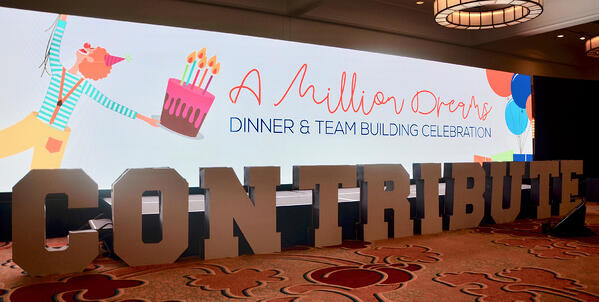 "Contribute 2019 ""A Million Dreams"" Team Building Dinner"