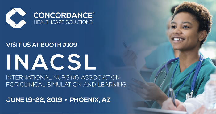 Visit Concordance at the INACSL Conference at booth 109